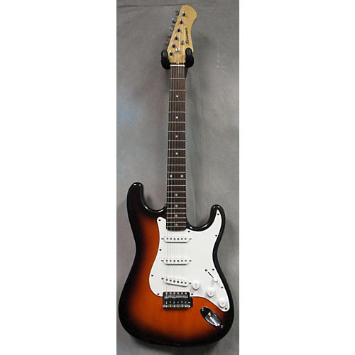 In Store Used Used HARMONIA NO-CASTER 2 Color Sunburst Solid Body Electric Guitar-thumbnail