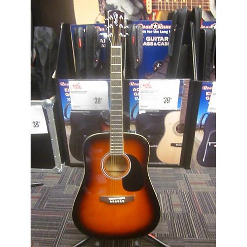 In Store Used Used HARVEST HW-101SB 2 Tone Sunburst Acoustic Guitar