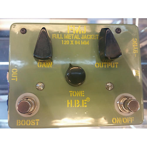 In Store Used Used HBE FULL METAL JACKET Effect Pedal