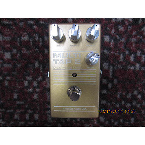 In Store Used Used HERMIDA AUDIO MULTI TAP 2 Effect Pedal