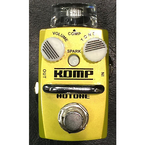 In Store Used Used HOTONE KOMP Effect Pedal-thumbnail
