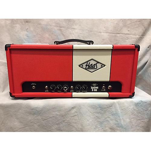 In Store Used Used Haas Sundown B100 Tube Bass Amp Head