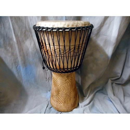 In Store Used Used Handmade Wood Djembe Djembe