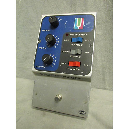 In Store Used Used Haz Laboratories MU-TRON 3 PLUS Bass Effect Pedal-thumbnail