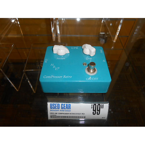 In Store Used Used Hbe COMPRESSOR RETRO Effect Pedal-thumbnail