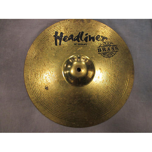 In Store Used Used Headliner 14in Hi Hats Cymbal