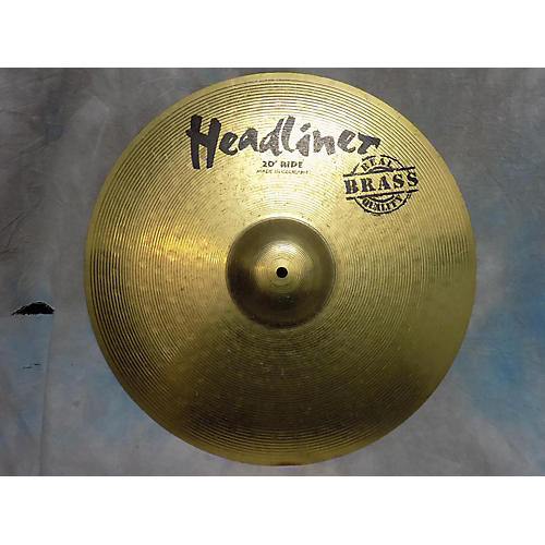 In Store Used Used Headliner 20in Ride Cymbal