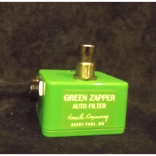 In Store Used Used Henretta Engineering Green Zapper Effect Pedal-thumbnail