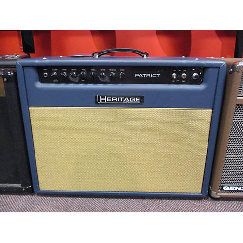 In Store Used Used Heritage Patriot 2x12 Tube Guitar Combo Amp-thumbnail