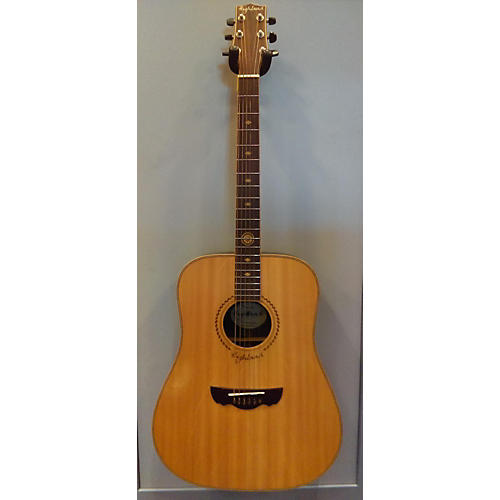 In Store Used Used Highland HAG-250 Natural Acoustic Guitar-thumbnail