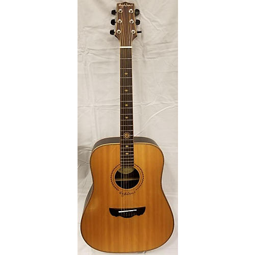 In Store Used Used Highland HAG-250 Natural Acoustic Guitar