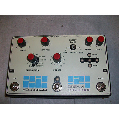 In Store Used Used Hologram Dream Sequencer Effect Pedal