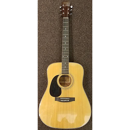 In Store Used Used Honer HW400LH Natural Acoustic Guitar-thumbnail