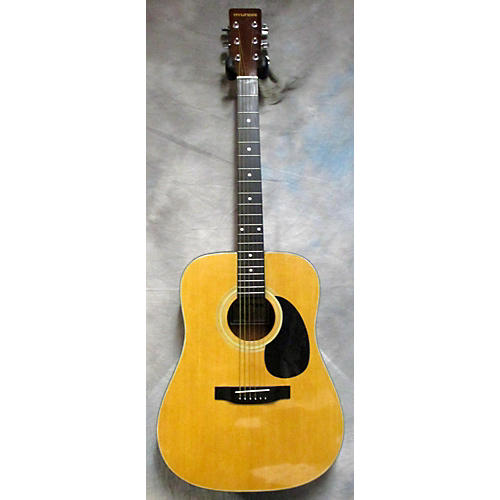 In Store Used Used Hyundai 1980s Hyw-11 Natural Acoustic Guitar-thumbnail