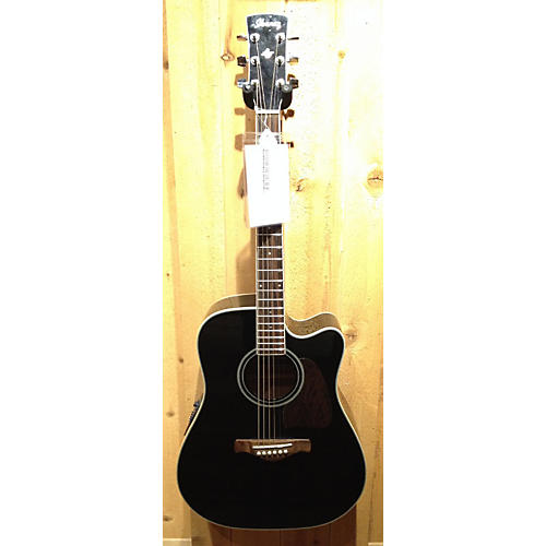 In Store Used Used IBANZ AW70 BLACK Acoustic Electric Guitar
