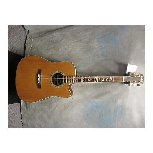 In Store Used Used INDIE TREE OF LIFE Natural Acoustic Electric Guitar-thumbnail