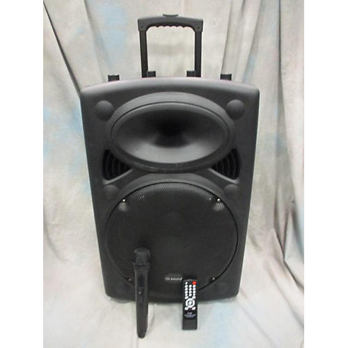 In Store Used Used IQ Sound Portable Rod Speaker Powered Speaker-thumbnail