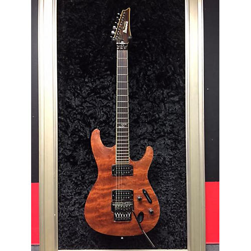 In Store Used  Used Ibanez Prestige S1520FB Natural Bubinga Solid Body Electric Guitar-thumbnail