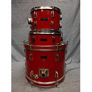 Used Igniter 3 piece Jazz Set Red Drum Kit