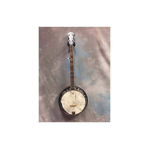 In Store Used Used Iida 5 String Closed Back Banjo Natural Banjo-thumbnail