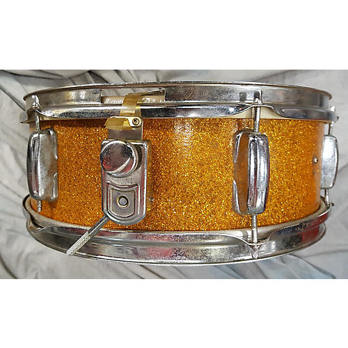 In Store Used Used Imported 1960s 4.5X14 Gold Sparkle Gold Sparkle Drum
