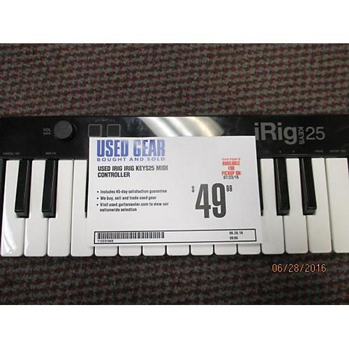 In Store Used Used Irig Irig Keys25 MIDI Controller