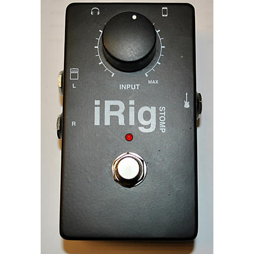 In Store Used Used Irig Stomp Effect Processor