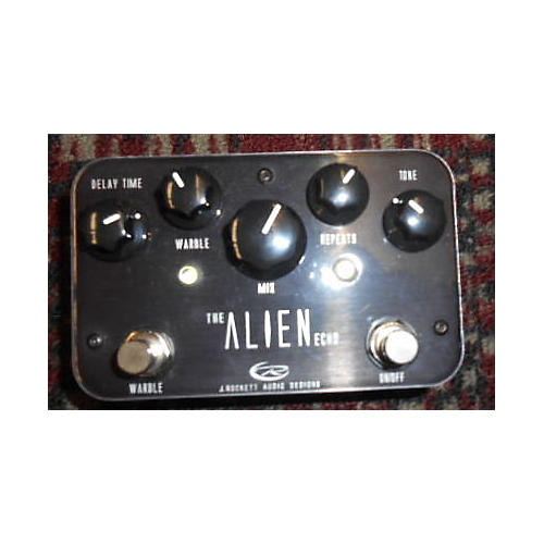 In Store Used Used J ROCKET AUDIO DESIGNS THE ALIEN ECHO Effect Pedal
