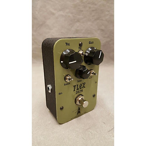 In Store Used Used J Rockett Flex Drive Army Green Effect Pedal