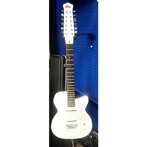 In Store Used Used JERRY JONES 2012 NEPTUNE 12 Vintage White Solid Body Electric Guitar Vintage White