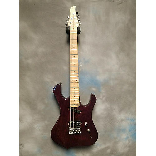 In Store Used Used JOES GUITARS VIPER 7 Purple Solid Body Electric Guitar-thumbnail
