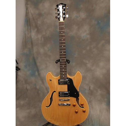 In Store Used Used JOHNSON JF500 2000s JF500 Blonde Hollow Body Electric Guitar-thumbnail