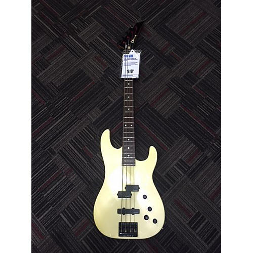 In Store Used Used Jackson Charvel 4B Antique White Electric Bass Guitar Antique White
