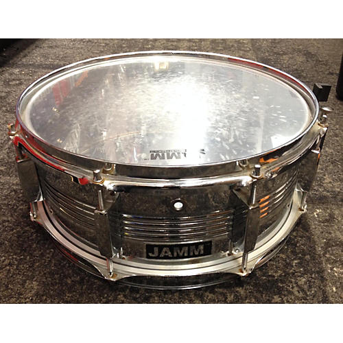 In Store Used Used Jamm 5.5X14 Steel Snare Chrome Drum