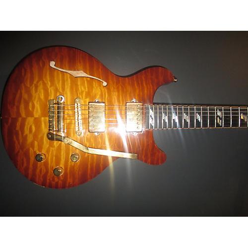 In Store Used Used Jaros Custom Memphis Cherry Sunburst Hollow Body Electric Guitar