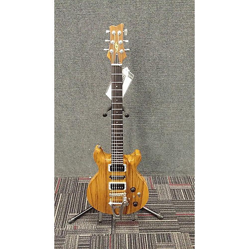 In Store Used Used Jason Schroeder Shorty Exotic Natural Solid Body Electric Guitar-thumbnail