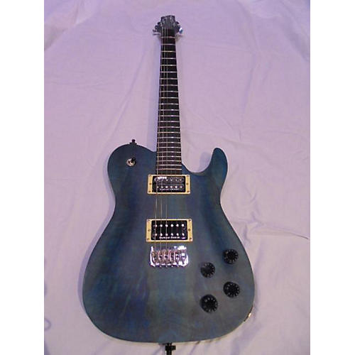 In Store Used Used Jericho Fusion Baritone Blue Spalted Maple Solid Body Electric Guitar