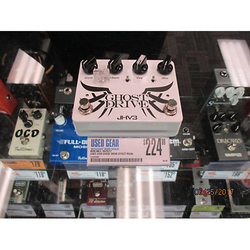 In Store Used Used Jhv3 Ghost Drive Effect Pedal