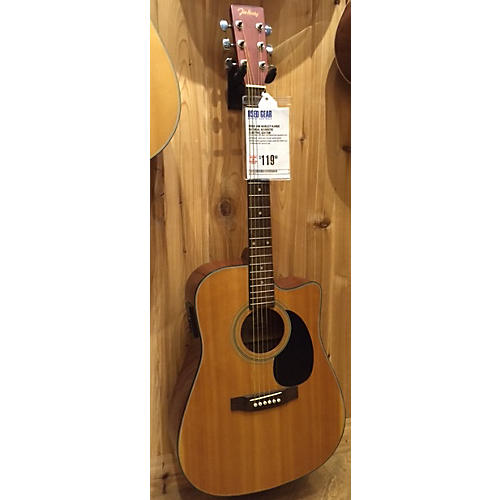 In Store Used Used Jim Harley Hjhge Natural Acoustic Electric Guitar