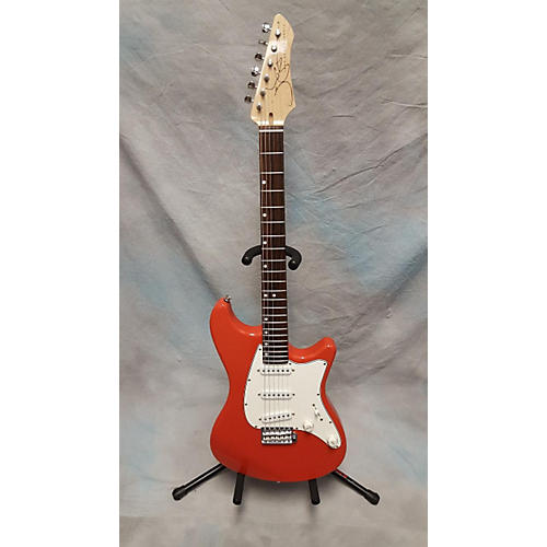 In Store Used Used John Page Classic Ashburn Fiesta Red Solid Body Electric Guitar