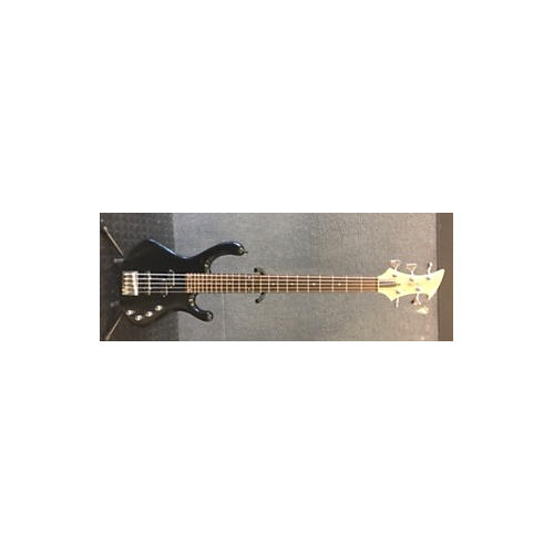 In Store Used Used Jon Hill Hunnington H5B Metallic Black Electric Bass Guitar-thumbnail