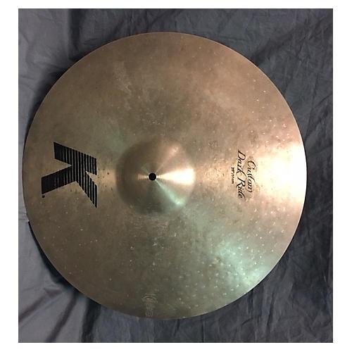 In Store Used Used K 20in Custom Dark Ride Cymbal