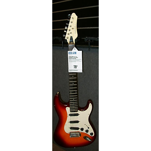 In Store Used Used KAREA STC-33 Sunburst Solid Body Electric Guitar-thumbnail