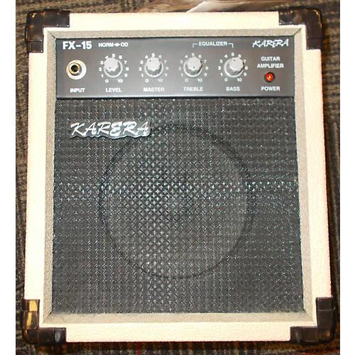 In Store Used Used KARERA FX 15 Guitar Combo Amp-thumbnail