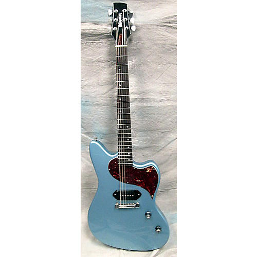 In Store Used Used KAUER DAYLIGHTER P90 Pelham Blue Solid Body Electric Guitar