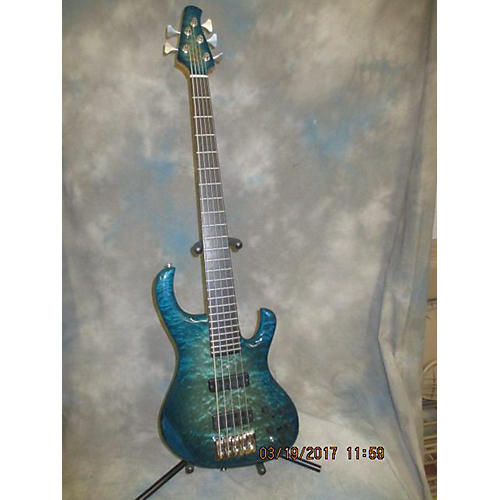 In Store Used Used KINAL MK5B BLUE BURST Electric Bass Guitar