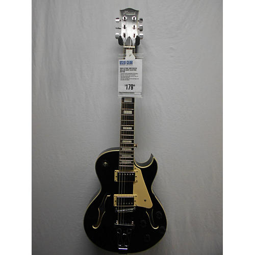 In Store Used Used KTONE 5003 Black Hollow Body Electric Guitar