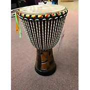 "Used Karambe African Drums 11"" Senegal Hand Made Djembe Djembe"