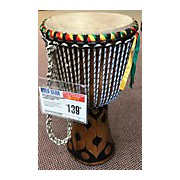 "Used Karambe African Drums 12"" Senegal Hand Made Djembe Djembe"