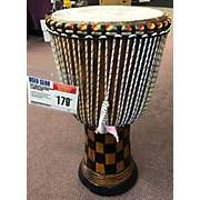"Used Karambe African Drums 13"" Senegal Hand Made Djembe Djembe"
